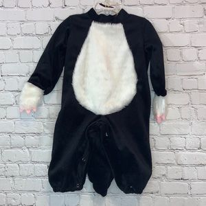 In Character Black & White Skunk Costume